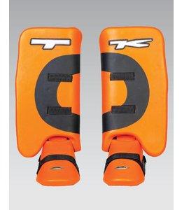TK T5 JR Legguard und Kickerset Orange XS