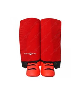Hockeypoint Indoor Legguard hoes red M/L