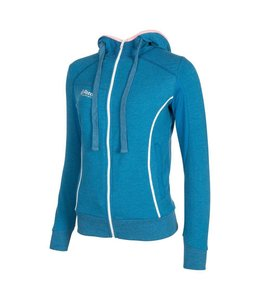 Reece Kate Hooded Zip Sweat Mosaic Blau