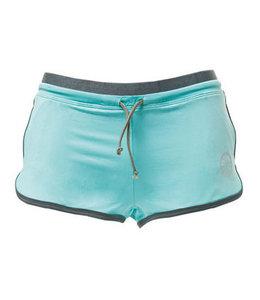Indian Maharadja Shorts Ladies Aqua/Grijs