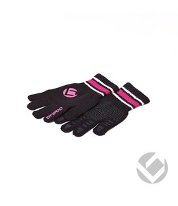 Brabo Winterglove Schwarz/Pink