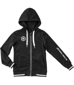 Indian Maharadja Kids tech hooded Schwarz