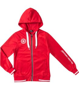 Indian Maharadja Kids tech hooded Rood