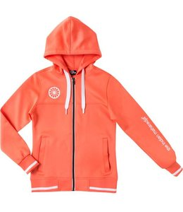 Indian Maharadja Kids tech hooded Coral