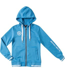 Indian Maharadja Kids tech hooded Blau