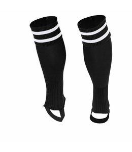 Stanno Sok zonder voet ( Ring footless sock ) Zwart/Wit