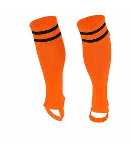 Stanno Socken ohne Fuss Orange/Schwarz