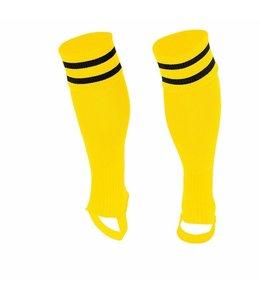 Socken ohne Fuss Gelb/Schwarz