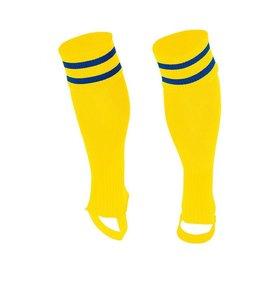 Stanno Socken ohne Fuss Gelb/Blau