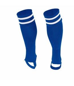 Stanno Socken ohne Fuss  Blau/Weiss