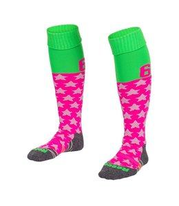 Reece Numbaa Special Sokken Neon Roze/Neon Groen