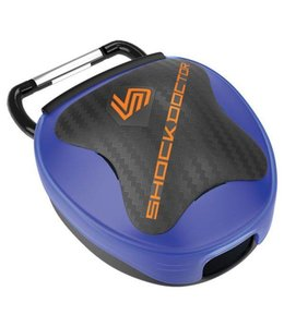 Shock doctor Mouthguard Case Blau