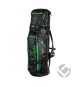 Brabo Stickbag TeXtreme Zwart/Lime