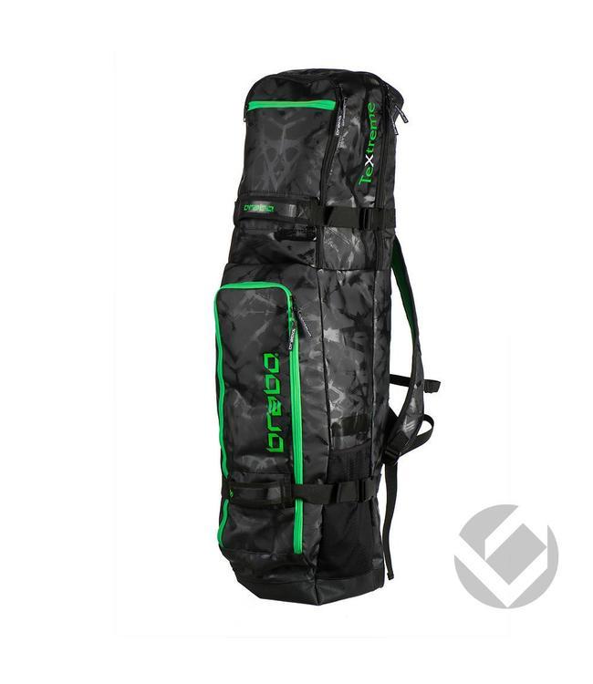 Brabo Stickbag TeXtreme Schwarz/Lime