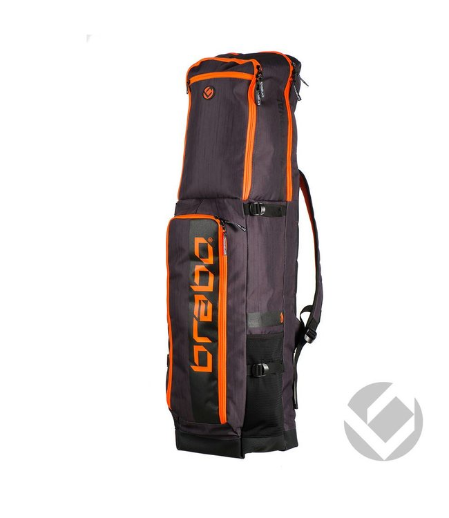 Brabo Stickbag Traditional Schwarz/Orange