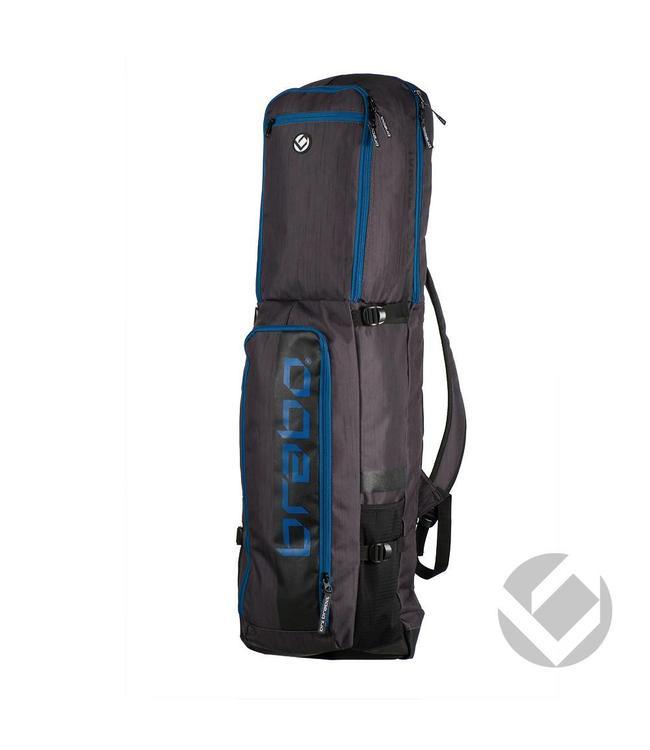 Brabo Stickbag Traditional Schwarz/Blau