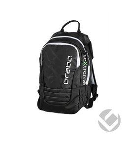 Brabo Backpack Junior TeXtreme Schwarz/Weiß