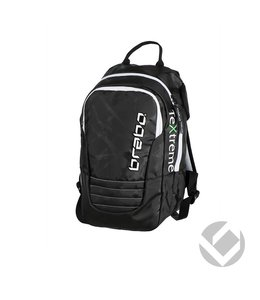 Brabo Backpack Junior TeXtreme Zwart/Wit