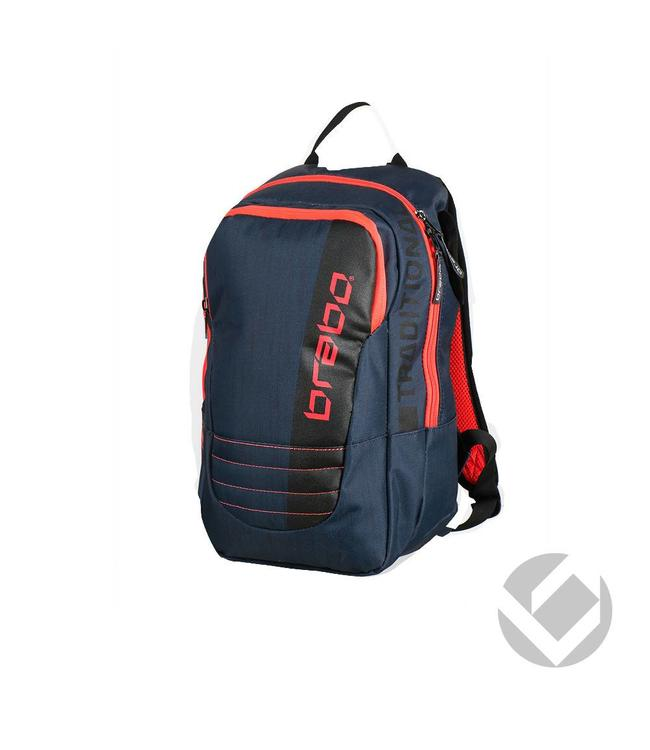 Brabo Backpack Junior Traditional Blau/Rot