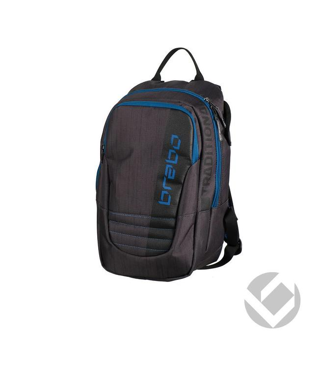 Brabo Backpack Junior Traditional Schwarz/Blau