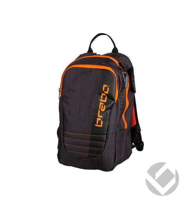 Brabo Backpack Junior Traditional Schwarz/Orange