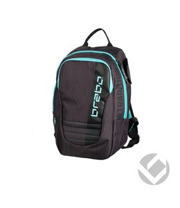 Brabo Backpack Junior Traditional Schwarz/Aqua