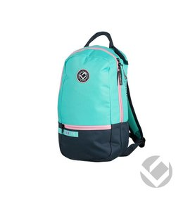Brabo Backpack Junior Team TC Zwart/Aqua/Roze