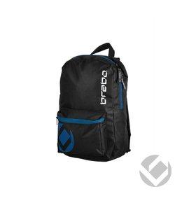 Brabo Backpack Junior Storm Zwart/Blauw