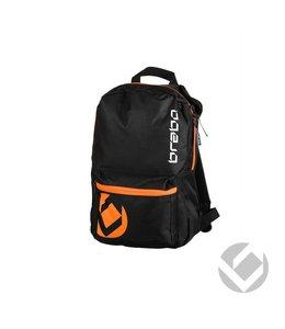 Brabo Backpack Junior Storm Zwart/Oranje