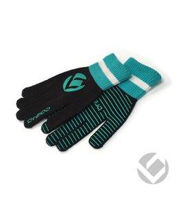 Brabo Winter Glove Schwarz/Zyan