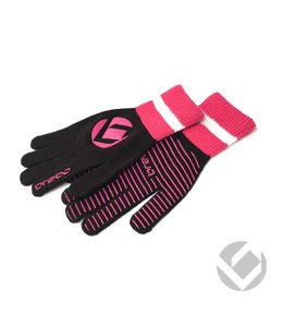 Brabo Winter Glove Zwart/Roze