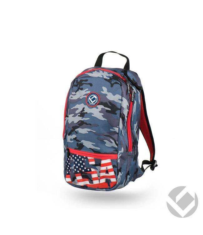 Brabo Backpack Junior Camo USA