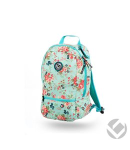 Brabo Backpack Junior Flowers Aqua