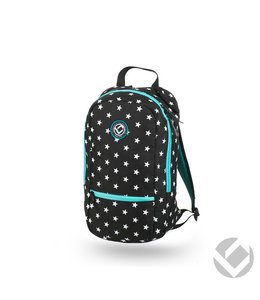 Brabo Backpack Junior Camp Stars Zwart/Wit