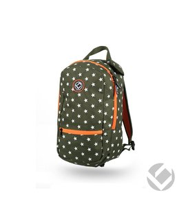 Brabo Backpack Junior Camp Stars Groen