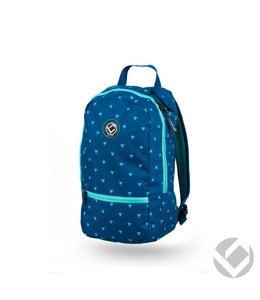 Brabo Backpack Junior Triangles Blauw/Aqua