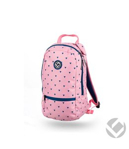 Brabo Backpack Junior Triangles Roze/Blauw