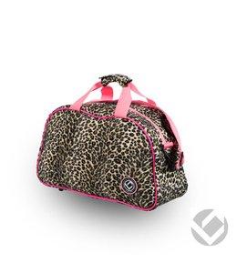 Brabo Shoulderbag Animal Cheetah/Roze