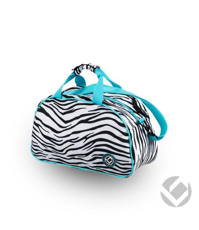 Brabo Shoulderbag Animal Zebra/Aqua
