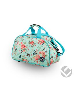 Brabo Shoulderbag Flowers Aqua