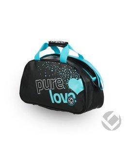 Brabo Shoulderbag Pure Love Schwarz/Aqua