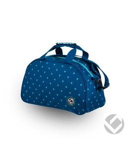 Brabo Shoulderbag Triangles Blauw/Aqua