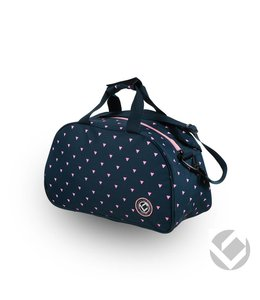 Brabo Shoulderbag Triangles Navy/Roze