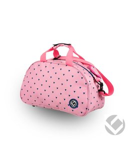 Brabo Shoulderbag Triangles Pink/Navy