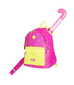 Reece Northam Backpack Roze/Neon Geel