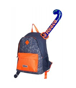 Reece Northam Backpack Navy/Orange