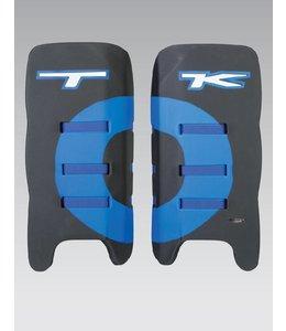 TK T1 Legguards Schwarz/Blau