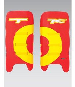 TK T1 Legguards Rood/Geel