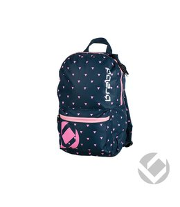 Brabo Backpack Junior Storm Navy/Roze
