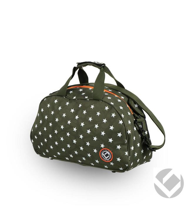 Brabo Shoulderbag Camp Stars Grün/Weiß